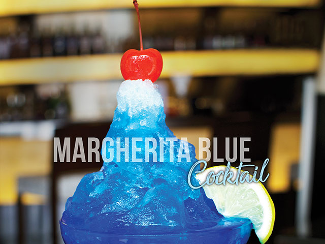 Margherita Blue Cocktail