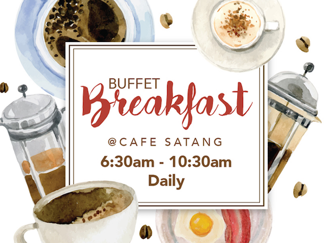 [SAVE UP TO RM5!] Daily Buffet Breakfast