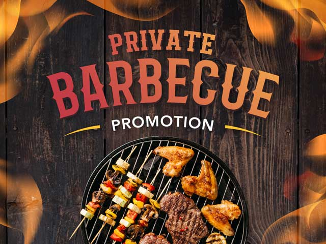 [PROMO] Private Barbecue Promotion