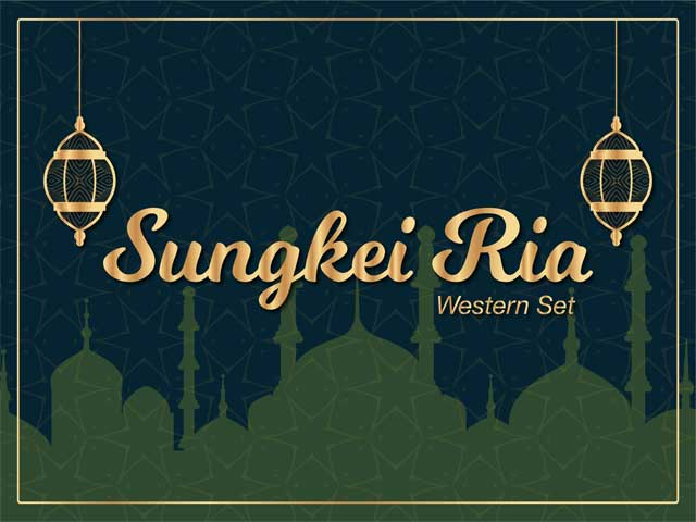[10% OFF] Sungkei Ria - Western Set