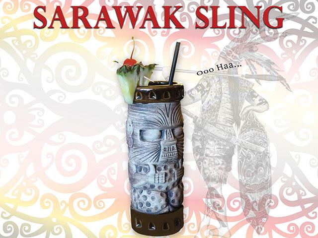 Sarawak Sling Signature Cocktail