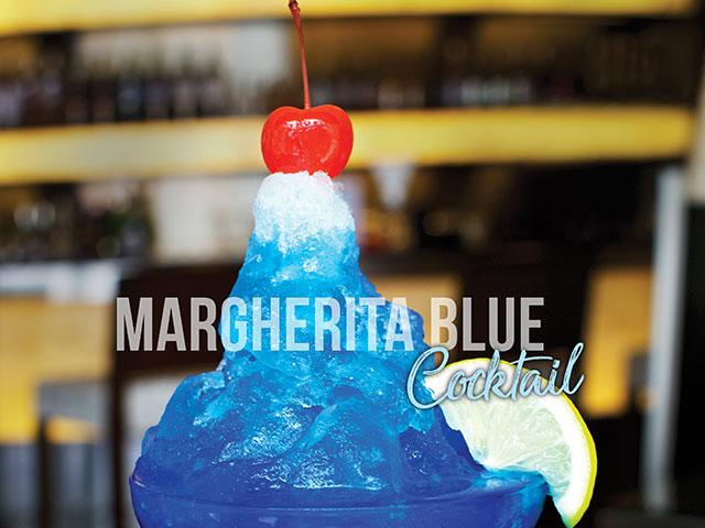 Margherita Blue Cocktail