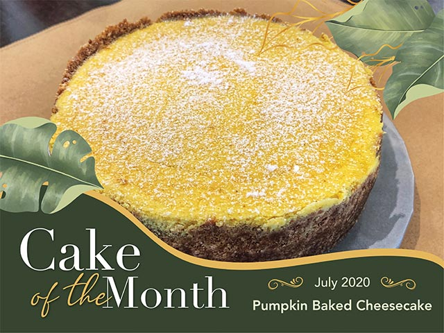 [DINE IN or TAKE AWAY] Cake of the Month