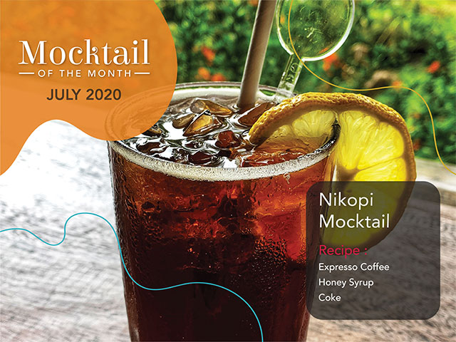[DINE IN or TAKE AWAY] Mocktail of the Month