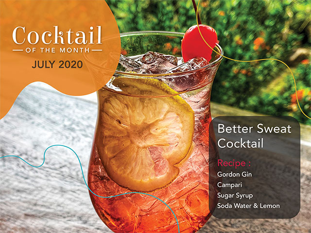 [DINE IN or TAKE AWAY] Cocktail of the Month