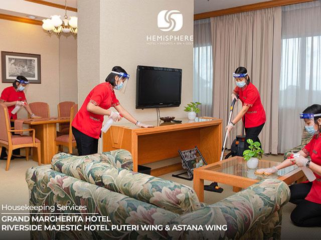 [X2 REWARD POINTS] Housekeping Services