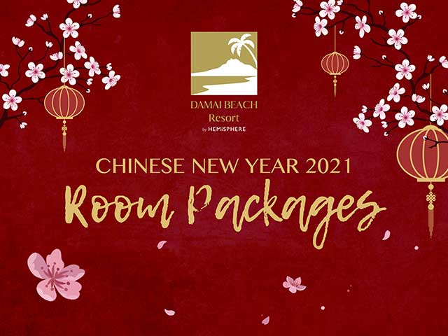[X2 REWARD POINTS] Chinese New Year 2021 Room Packages