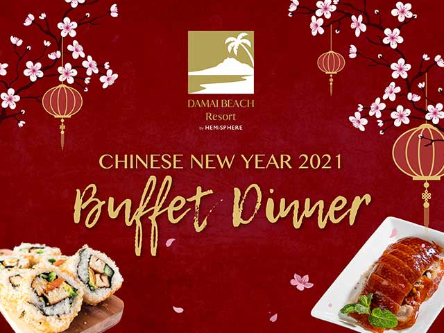[X8 REWARD POINTS!] Chinese New Year 2021 Buffet Dinner
