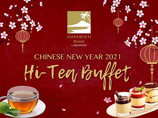[X8 REWARD POINTS!] Chinese New Year 2021 Hi-Tea Buffet