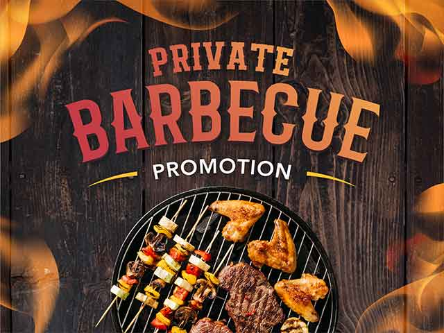 [X4 REWARD POINTS!] Private Barbecue Promotion