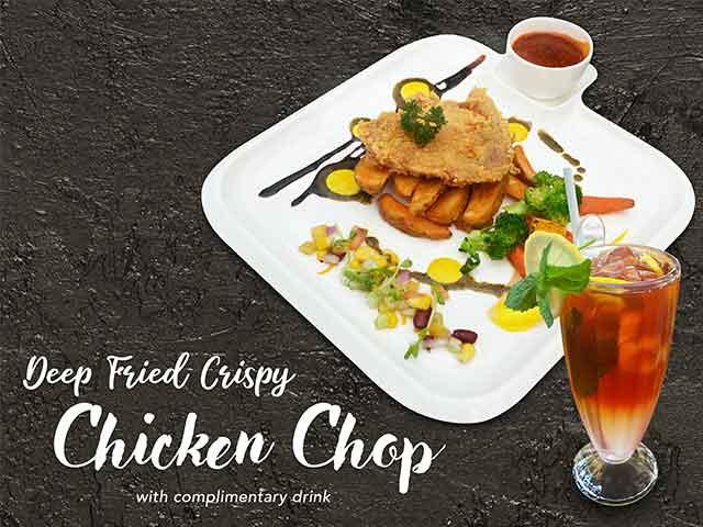 [X2 REWARD POINTS] Chicken Chop Series