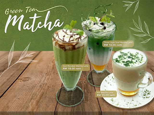 [X2 REWARD POINTS] Green Tea Matcha Promo