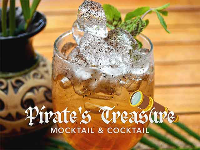 [X2 REWARD POINTS] Pirate's Treasure Mocktail & Cocktail Promo