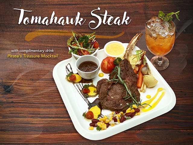 [X2 REWARD POINTS] Tomahawk Steak