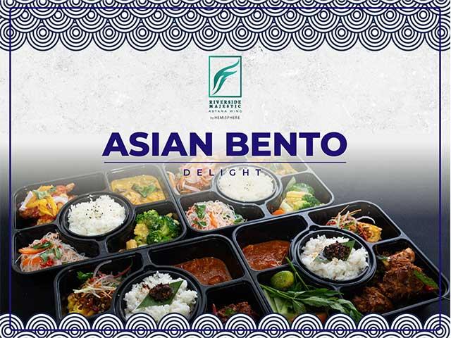 [X2 REWARD POINTS!] Asian Bento Delight