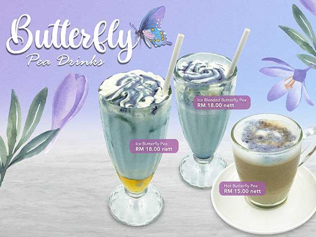 [X2 REWARD POINTS] Butterfly Pea Drinks Promo