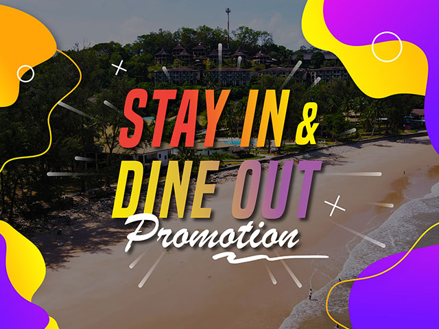 [X3 REWARD POINTS!] Stay In & Dine Out Promotion