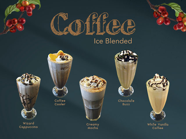 Coffee Ice Blended Series