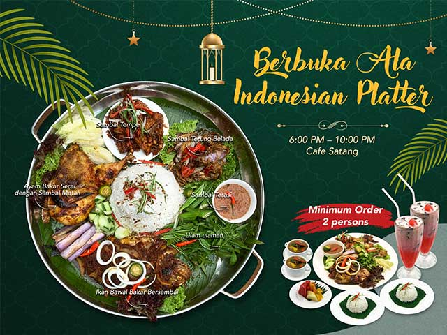 [X2 REWARD POINTS!] Berbuka Ala Indonesian Platter