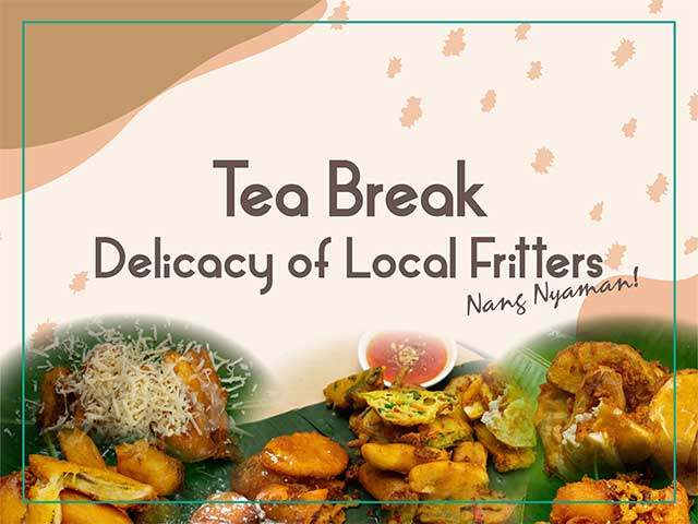 [X3 REWARD POINTS!] Tea Break - Delicacy of Local Fritters