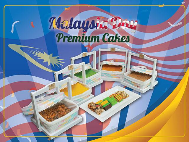 [X3 REWARD POINTS!] Malaysia Day Premium Cakes